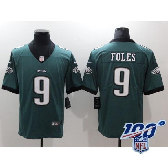 Other - Philadelphia Eagles Nick Foles Green Jersey